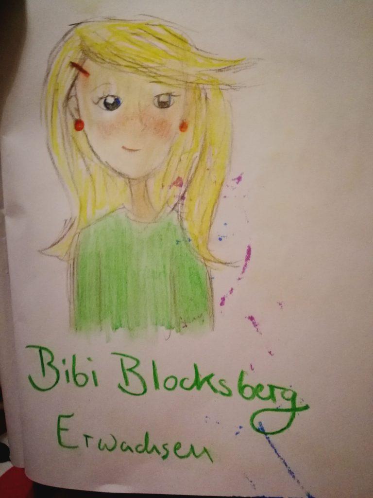 Bibi Blocksberg als Erwachsene