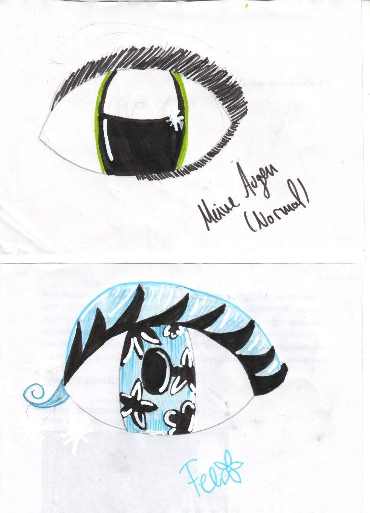 Wie zeichnet man Augen einevonachtzigmillionen