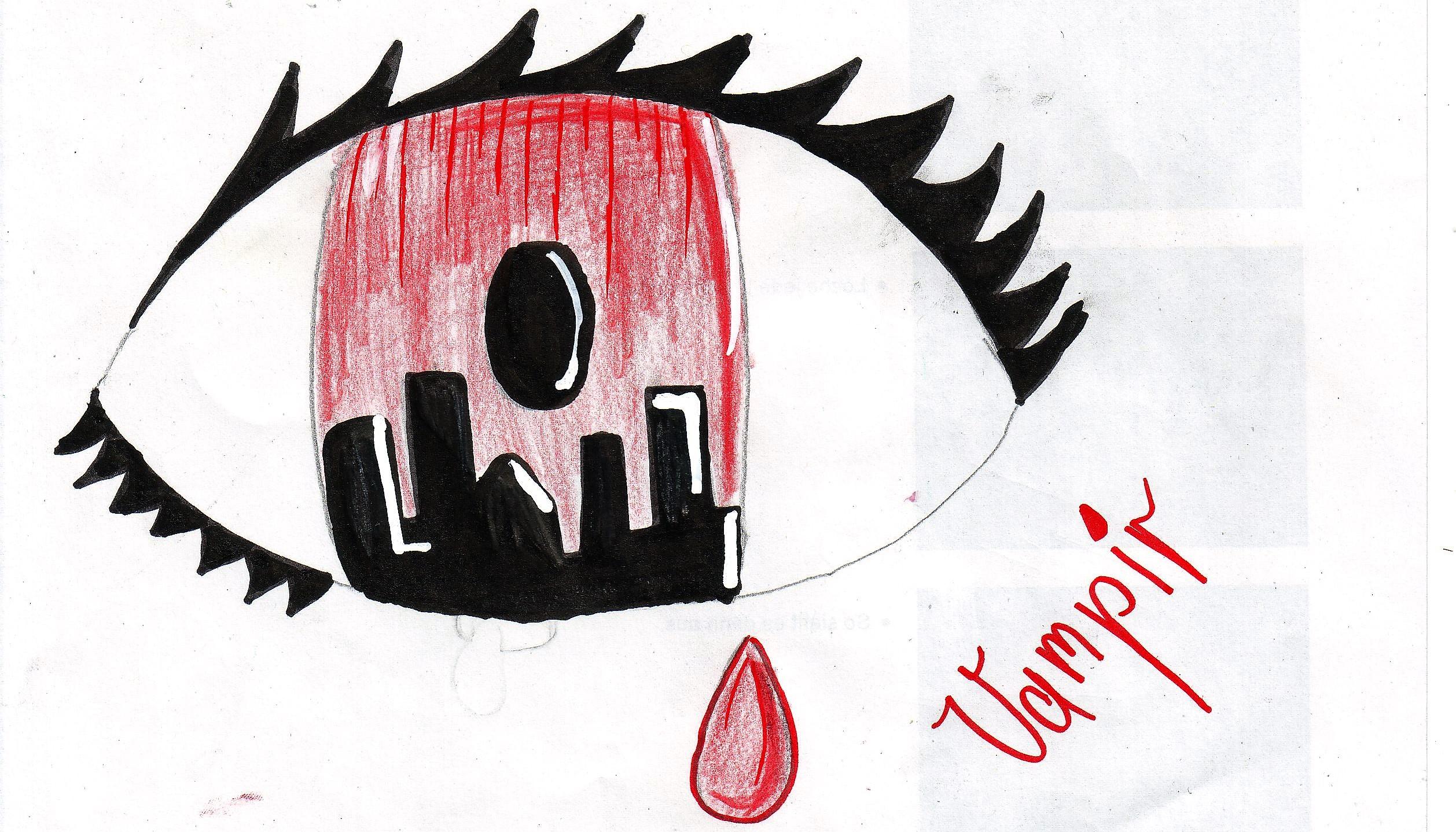 Meine Augen und die Augen von anderen Wesen